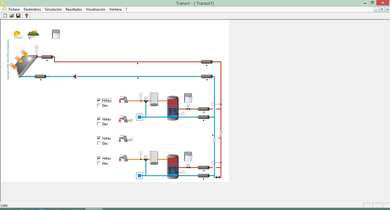 Transol 3 Solar Thermal Energy Aiguasol Engine Diagram Software 1